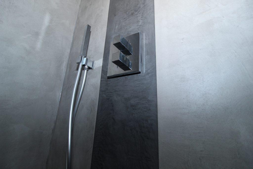 Microzement Dusche